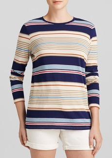 Vince Tee - Multi Stripe Long Sleeved