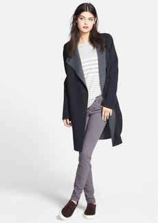 Vince Two-Tone Coat