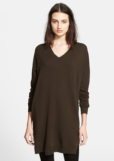 Vince V-Neck Wool & Cashmere Tunic