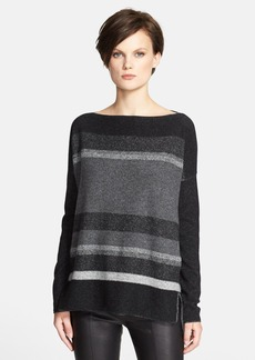 Vince Variegated Marled Boatneck Sweater