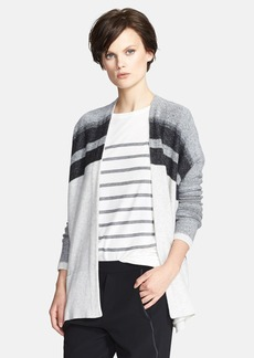 Vince Variegated Oversized Wool & Cashmere Cardigan