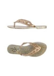 VIVIENNE WESTWOOD ANGLOMANIA + MELISSA - Flip flops