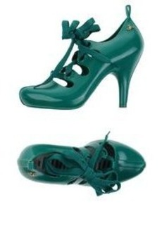 VIVIENNE WESTWOOD ANGLOMANIA + MELISSA - Laced shoes