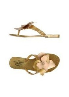 VIVIENNE WESTWOOD ANGLOMANIA + MELISSA - Thong sandal