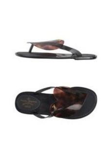 VIVIENNE WESTWOOD ANGLOMANIA + MELISSA - Thong sandal