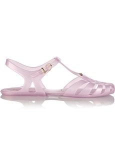 Vivienne Westwood Anglomania + Melissa Aranha Hits glittered rubber sandals