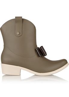 Vivienne Westwood Anglomania + Melissa rubber rain boots
