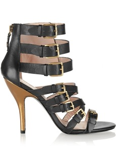Vivienne Westwood Anglomania Buckled leather sandals