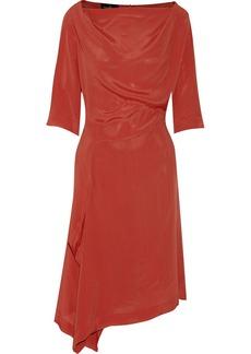 Vivienne Westwood Anglomania Draped crepe dress