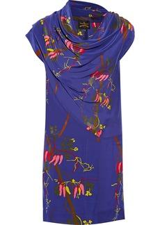 Vivienne Westwood Anglomania Floral-print crepe de chine dress