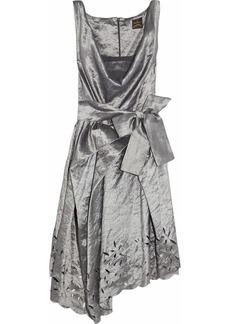 Vivienne Westwood Anglomania Friday crinkled-taffeta dress