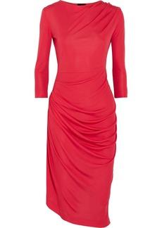 Vivienne Westwood Anglomania Melita gathered stretch-jersey dress