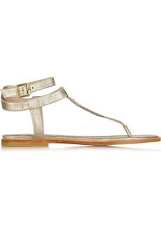 Vivienne Westwood Anglomania Metallic leather sandals