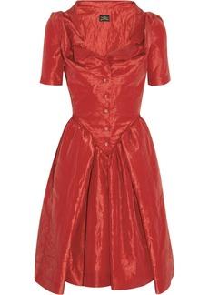 Vivienne Westwood Anglomania Monday crinkled-taffeta dress
