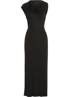 Vivienne Westwood Anglomania Mosaic stretch-jersey maxi dress