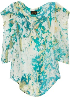 Vivienne Westwood Anglomania Printed cady blouse