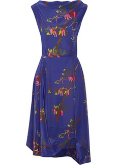 Vivienne Westwood Anglomania Printed chiffon dress