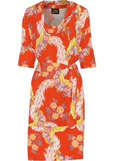 Vivienne Westwood Anglomania Printed crepe dress