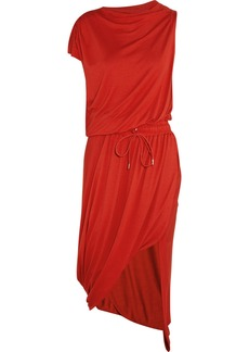 Vivienne Westwood Anglomania Quest draped stretch-jersey dress