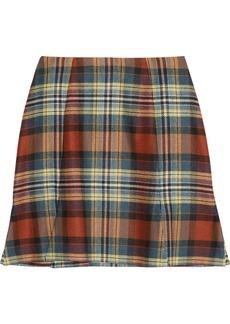 Vivienne Westwood Anglomania Rocket tartan mini skirt
