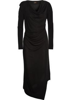 Vivienne Westwood Anglomania Sunday draped jersey-crepe dress