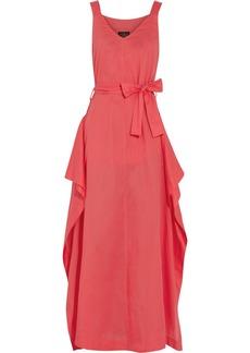 Vivienne Westwood Anglomania Zeta asymmetric cotton maxi dress