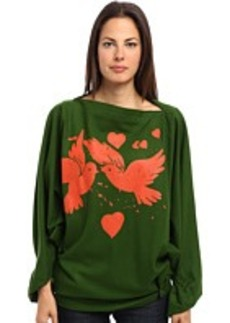 Vivienne Westwood Gold Label Infinity Birds Poncho