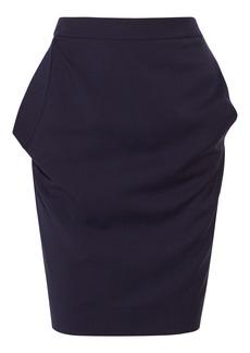 Vivienne Westwood Red Label Asymmetric-pockets wool skirt