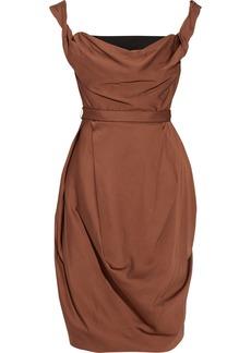 Vivienne Westwood Red Label Crepe de chine corset dress