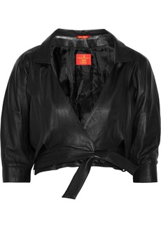 Vivienne Westwood Red Label Cropped leather jacket