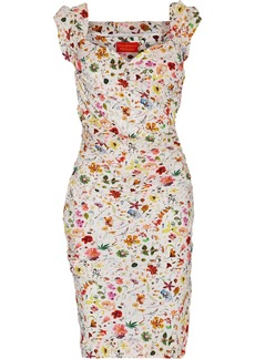 Vivienne Westwood Red Label Floral-print silk dress