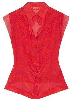 Vivienne Westwood Red Label Heart-print silk shirt