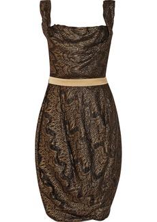 Vivienne Westwood Red Label Metallic jacquard dress