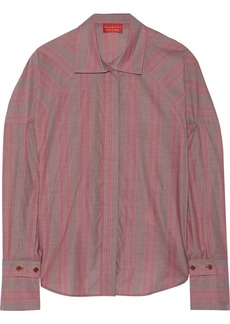 Vivienne Westwood Red Label Striped cotton blouse