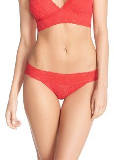 Wacoal 'Halo Lace' Bikini (3 for $39)