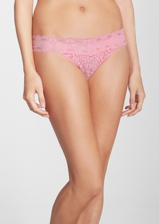 Wacoal 'Halo Lace' Thong (3 for $39)