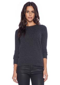White + Warren Cashmere Essentials Crew Neck Sweater