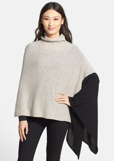 White + Warren Two-Way Turtleneck Cashmere Topper