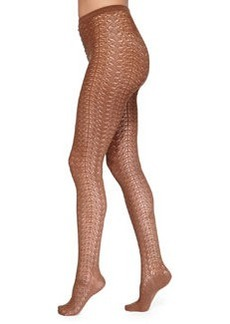 Celina Graphic Pattern Tights   Celina Graphic Pattern Tights