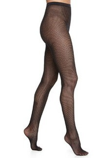 Marie Striped Net Tights, Black   Marie Striped Net Tights, Black