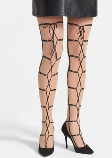 Wolford 'Alicia' Thigh High Tights