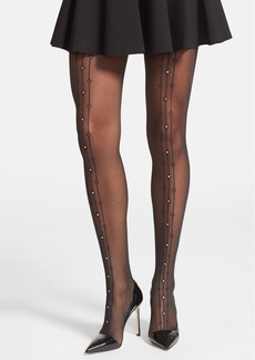 Wolford 'Angelina' Sequin Embellished Sheer Tights