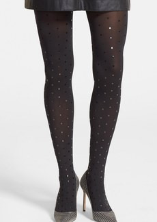 Wolford 'Fabienne' Shimmer Dot Tights