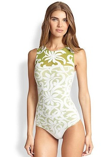 Wolford Nahla Floral Bodysuit