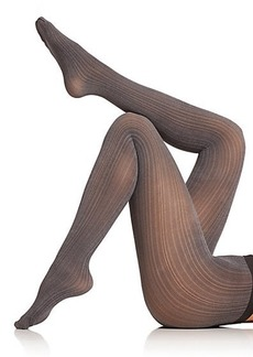 Wolford Sophia Two-Tone Striped Tights