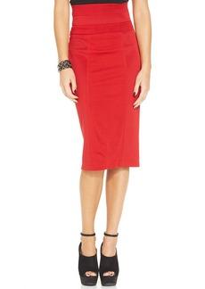 XOXO High-Waist Pencil Skirt