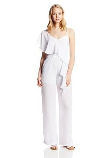 XOXO Juniors Asym Ruffle Jumpsuit