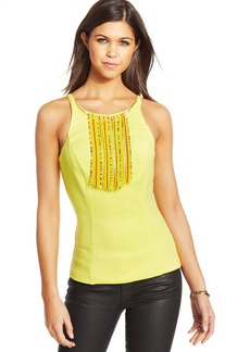 XOXO Juniors' Beaded Necklace Top