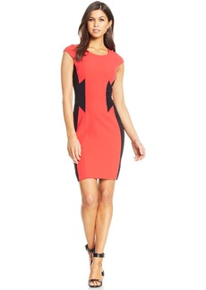 XOXO Juniors' Colorblock Sheath Dress