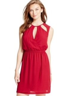 Xoxo Juniors' Cutout Sleeveless Dress